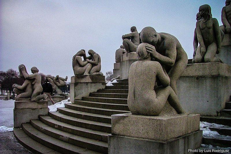Esculturas en Parque Vigeland