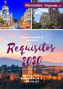 Cómo viajar a España 2020