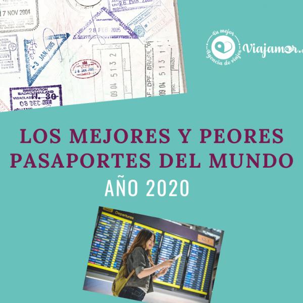 Mejores y peores pasaportes 2020