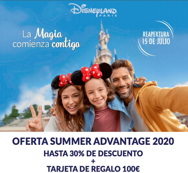 Reapertura Disneyland París 2020