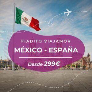 vuelo barato México a Madrid