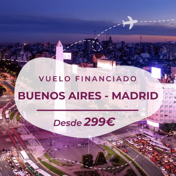 vuelo barato argentina a españa